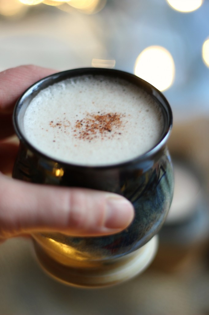 Homemade Egg Nog | www.purplehousecafe.com