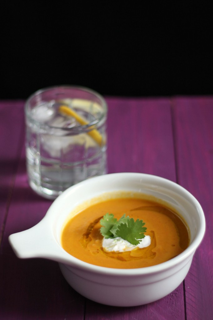 Carrot Coconut Soup | www.purplehousecafe.com